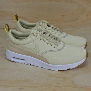 nike damen air max thea sneaker string light cream 39